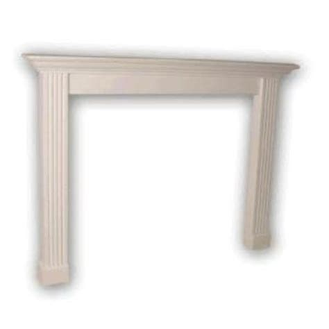 home depot foster mantels primed surround fireplace