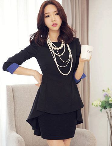 New Korean Style Blouse Chiffon Combination With Mote 162 best images about office looks on for