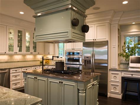 Kitchen With An Island Kitchen Island Accessories Pictures Ideas From Hgtv Hgtv