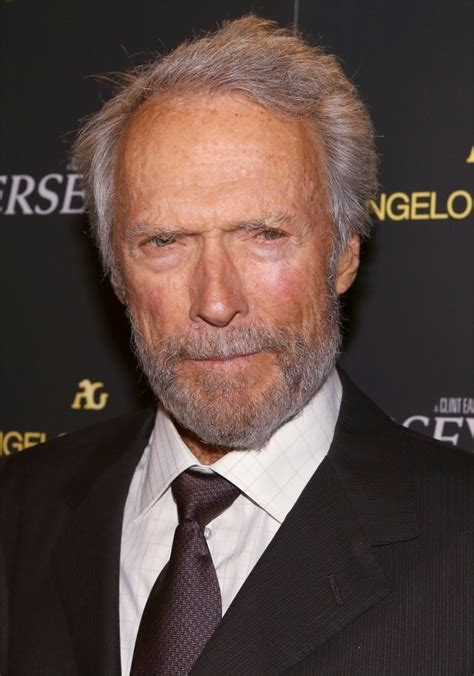 clint eastwood 2018 haircut beard eyes weight