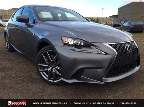 lexus sport car 4 door 2015 lexus is 350 f sport series 2 4 door car in