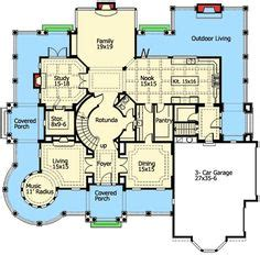 unique floor plan with central turret 23183jd 2nd craftsman floor plans salt lake city utah ut provo sioux
