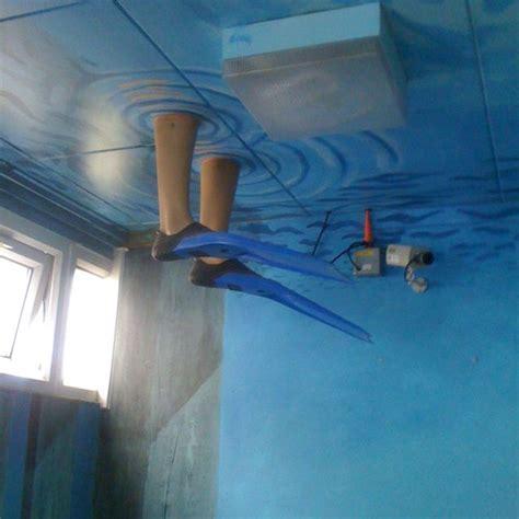 Water Coming From Ceiling by 25 Best Ideas About Underwater Theme On