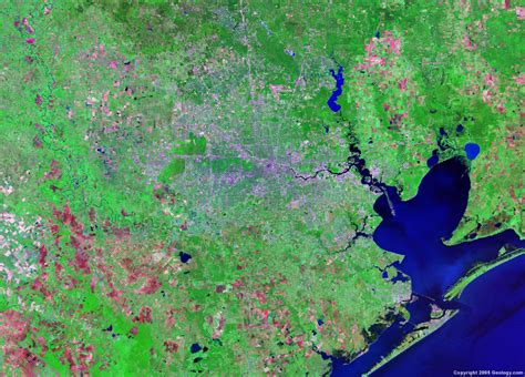 satellite maps of texas satellite images of united states cities landsat