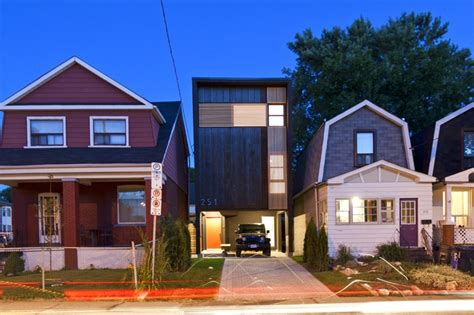 design build homes toronto home design toronto s shaft house maximizes space daylight on a snug