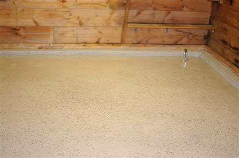 Rustoleum Epoxy Floor by Paint And Park Bringing A Floor Back From The Dead With