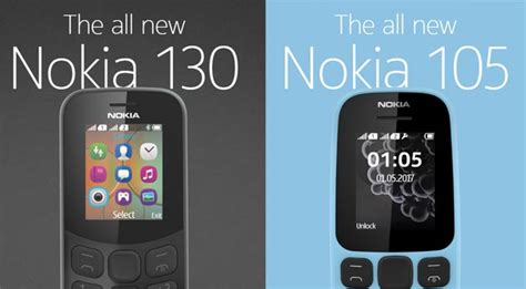 Nokia 130 Your Portable And Player 18 Inch Display nokia has launched two new feature phones next to iconic 3310
