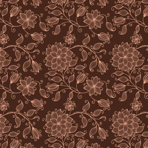 vector pattern luxury vector flower seamless pattern background elegant texture