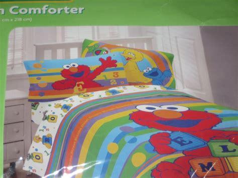 sesame street comforter twin new sesame street elmo twin reversible comforter