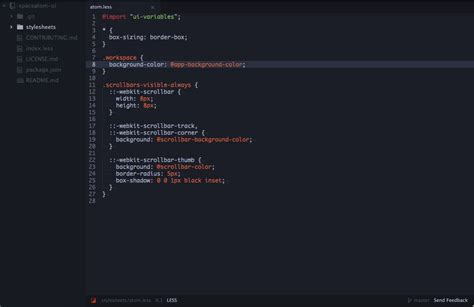best light themes for atom spacegray atom dark ui