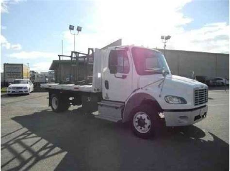 freightliner m2 air ride suspension 14ft flatbed we change for dump box tow or other 2012