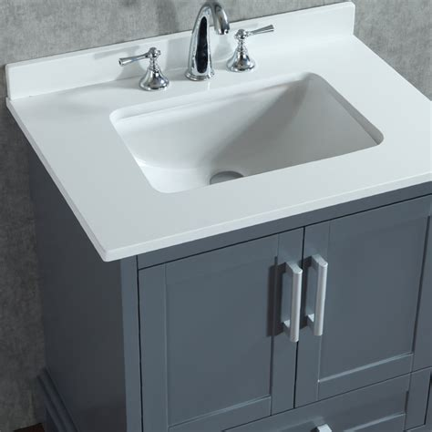 bathroom sink with mirror ace 30 inch single whale grey bathroom vanity set with mirror