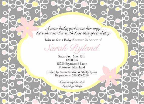Baby shower invitations wordings envytate birthday invitations