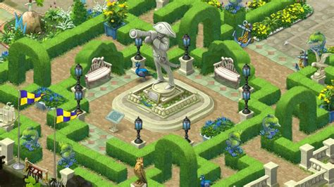 Gardenscapes Maze Gardenscapes Level 860