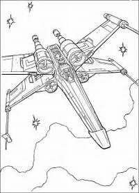 Star Wars Ship 1 Coloring Page 3