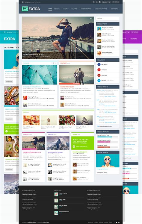 divi theme blog homepage extra has arrived say hello to our most powerful magazine