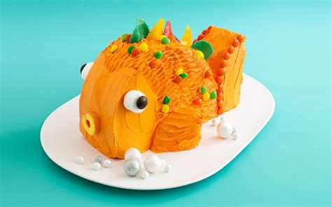 Carnival Backyard Party Goldfish Cake On Pinterest Fish Cake Pops Bass Fish