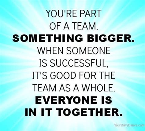 being part of a team your daily