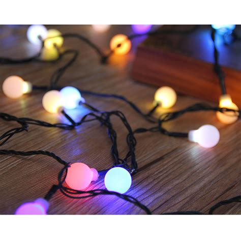 30 Lights Globe Ball Automatic Color Changing Fairy Led Color Changing Led String Lights