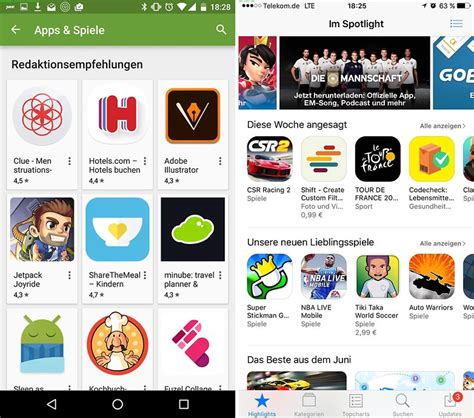 Play Store Vs App Store Android Necesita Un Nuevo Play Store Androidpit