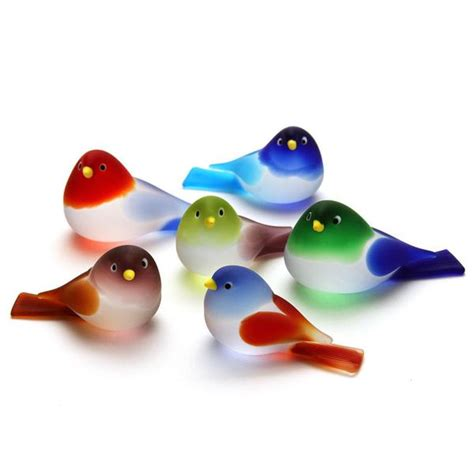 Animal Figurines Home Decor by Small Murano Art Glass Bird 1 3 4 Quot The Getty Store