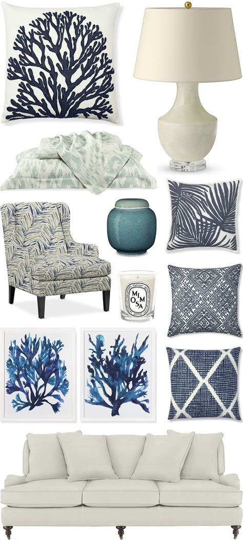 beach chic home decor 1362 best blue and white heaven images on pinterest