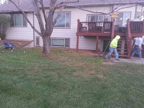 Patio Designs Before And After Before And After E J Concrete And Dirt Work