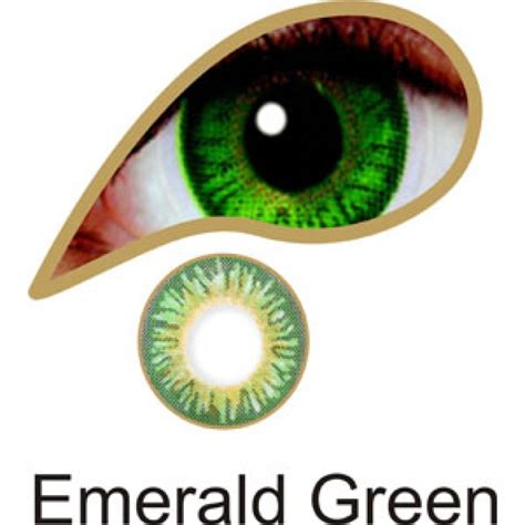 green colored contact lenses emerald green coloured contacts comfort cheap colored