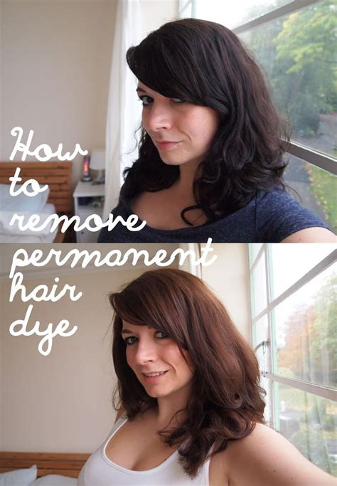 can a salon remove non permanent hair color quot how to remove permanent hair dye without bleach or an