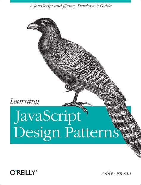 pattern design javascript learning javascript design patterns o reilly media