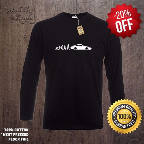 Porsche T Shirt Ebay by Sleeve T Shirt Evolution Of Porsche 911 T Shirt