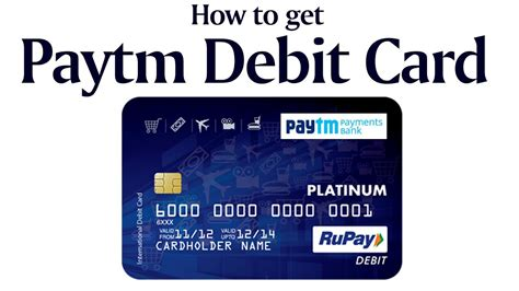 how to make debit card payment paytm debit card get your rupay debit card from