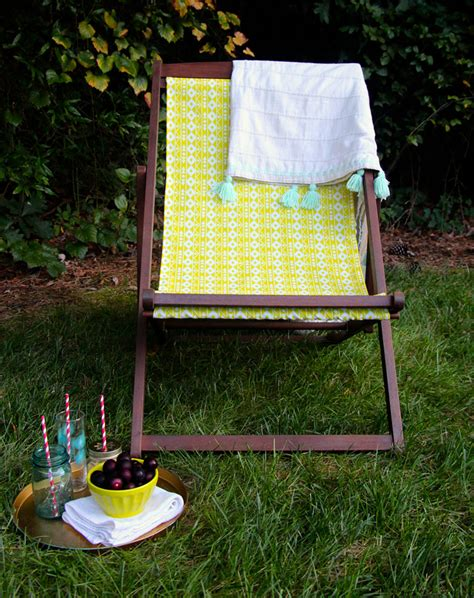 Diy C Chair by Diy Outdoor Chair Makeover Spoonflower