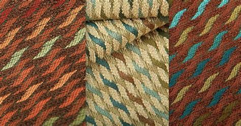 pattern matching rust tularosa upholstery fabric comes in five colorways three