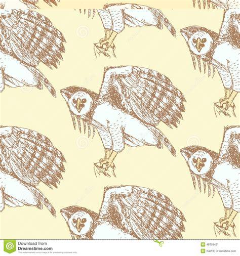 vintage pattern sketch sketch harpia eagle head in vintage style stock vector