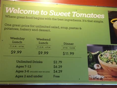 Buffet Picture Of Sweet Tomatoes Kissimmee Tripadvisor Sweet Tomatoes Buffet Price