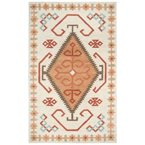 10 X 13 Multicolor Area Rugs - rizzy home mesa ivory multicolor southwestern 10 ft x 13