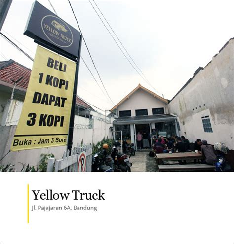 Yellow Truck Coffee Harga be billioner yellow truck coffe tea bandung