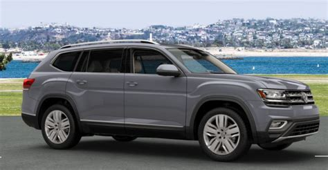 paint color options    volkswagen atlas