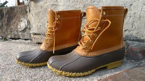 mens bean boots s size 9 vintage ll bean tex boots duck