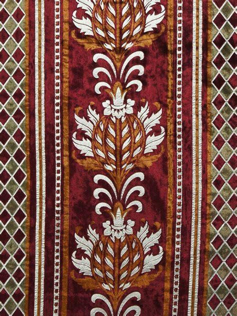 Damask Velvet Curtains Maia Antique Damask Grommet Velvet Curtains