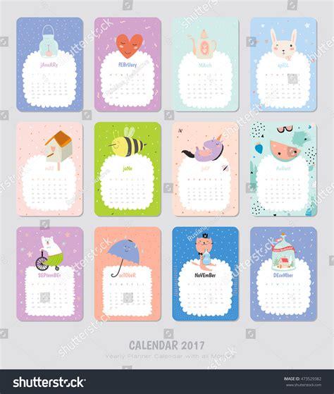 2017 excel calendar template 2017 monthly calendar and 2017
