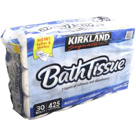 Who Makes Kirkland Signature Toilet Paper - kirkland bathroom tissue reviews in household essentials