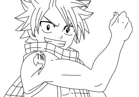 natsu coloring page by doremefasoladedo on deviantart