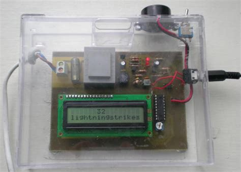 Lighting Detector by Readers Lightning Detectors