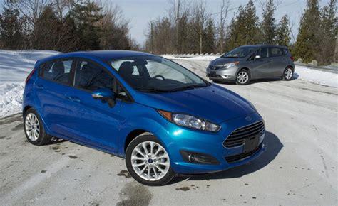 compact nissan versa note 2014 ford fiesta vs nissan versa note car reviews