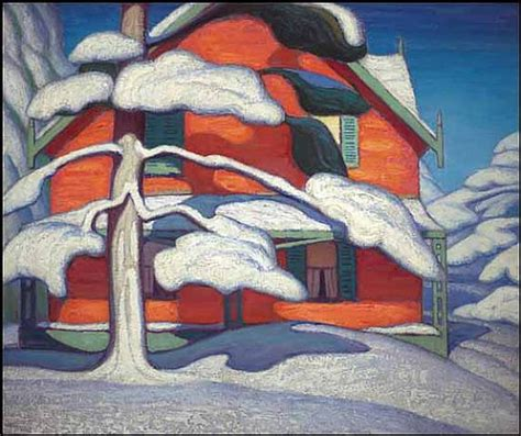 red house painters 24 occasional painting pine tree and red house winter city painting ii the culturatti
