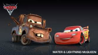Lightning Mcqueen 2 Car Names Mater And Lightning Mcqueen Cars 2 Character Wallpaper