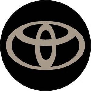Toyota Decals Stickers Circular Toyota Decal Sticker 03