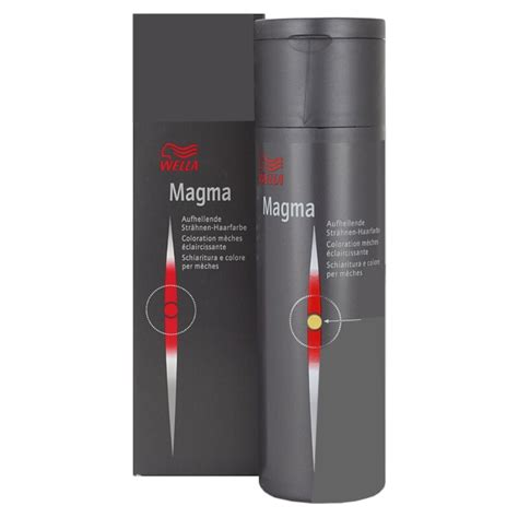 magma color wella professionals magma color hair color notino co uk